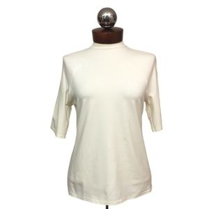 YEOHLEE $470 seamed stretch tee short sleeve S